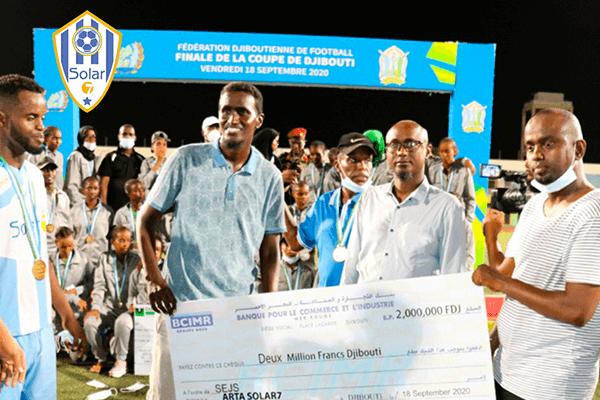 Djibouti :As Arta Solar 7 le club de tommy Tayoro