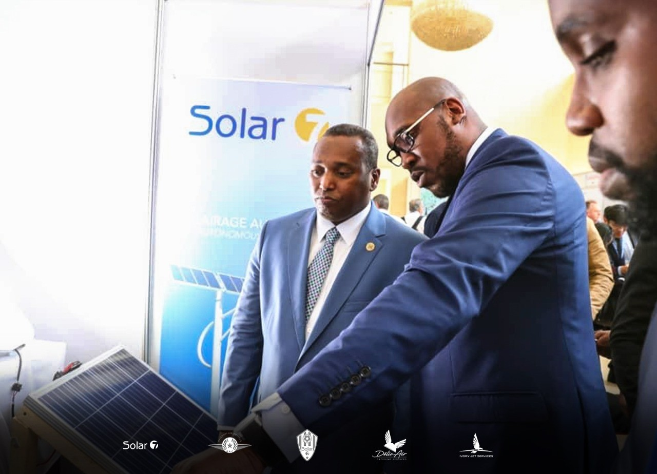 Djibouti Tommy Tayoro Nyckoss le leader de l'énergie renouvelables