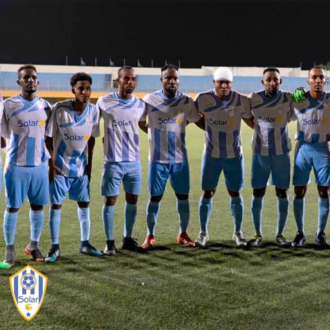 As Arta football club Djibouti de Tommy Tayoro