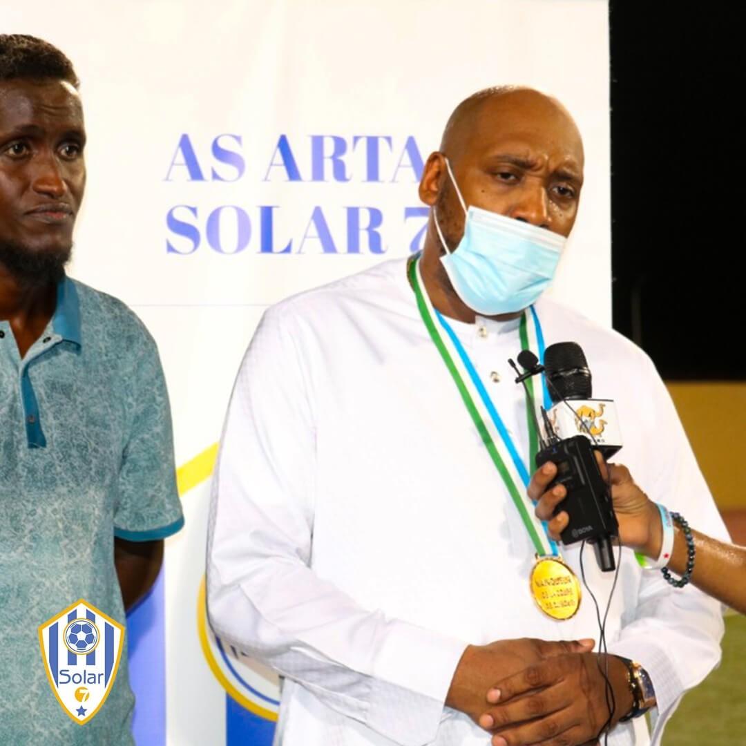 Djibouti: Association sportive Arta Solar7 de Tommy Tayoro