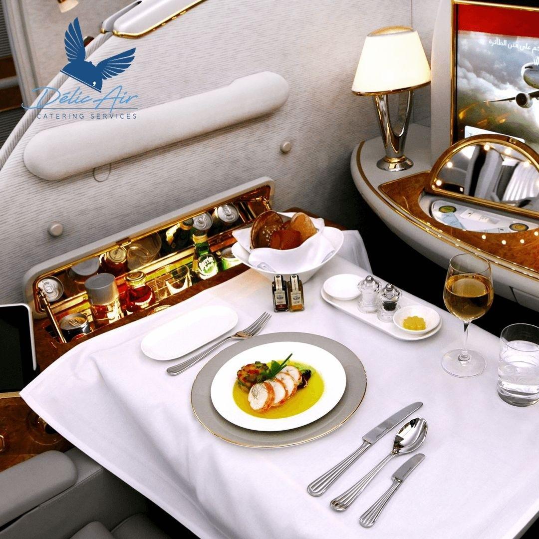 Delic Air de tommy Tayoro : Repas de la compagnie aérienne