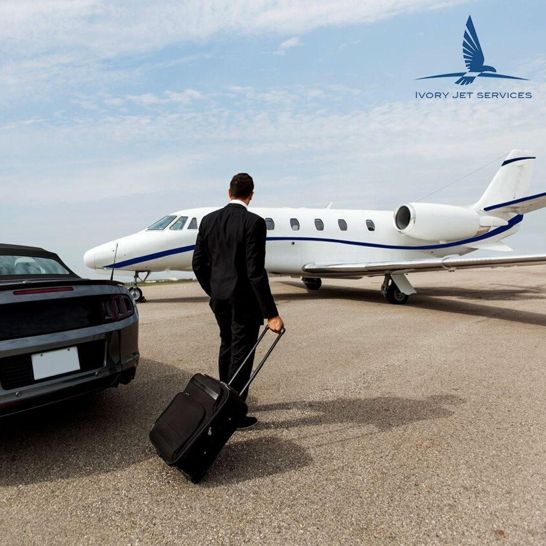Ivory Jet Services - L'avion privé
