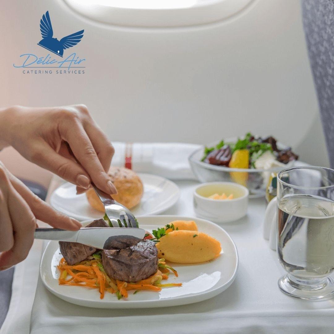 La restauration aérienne de luxe à Djibouti chez Délic Air