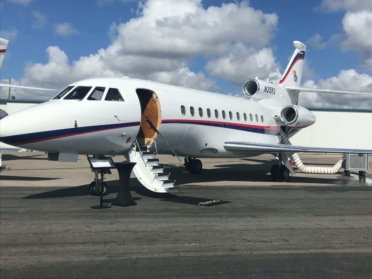 Jet privé avec Ivory Jet Services